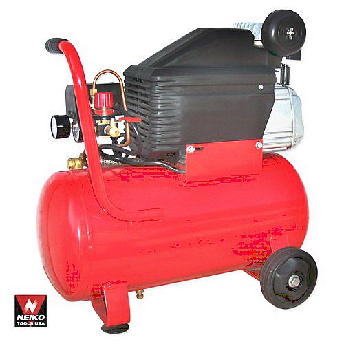 neiko 30402 heavy duty 6 gallon 2.5 hp  dog air compressor